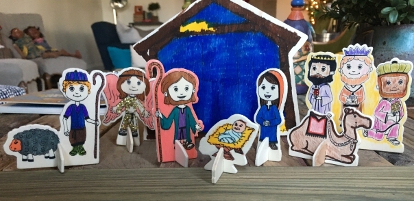 Christmas Nativity ©CatrinaAtHome