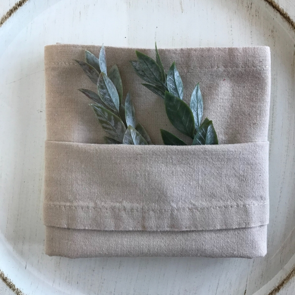 Pocket fold napkin by CatrinaAtHome
